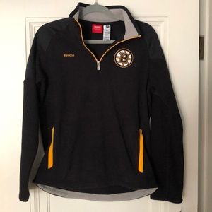 Young Men's Boston Bruins 1/4-zip fleece jacket
